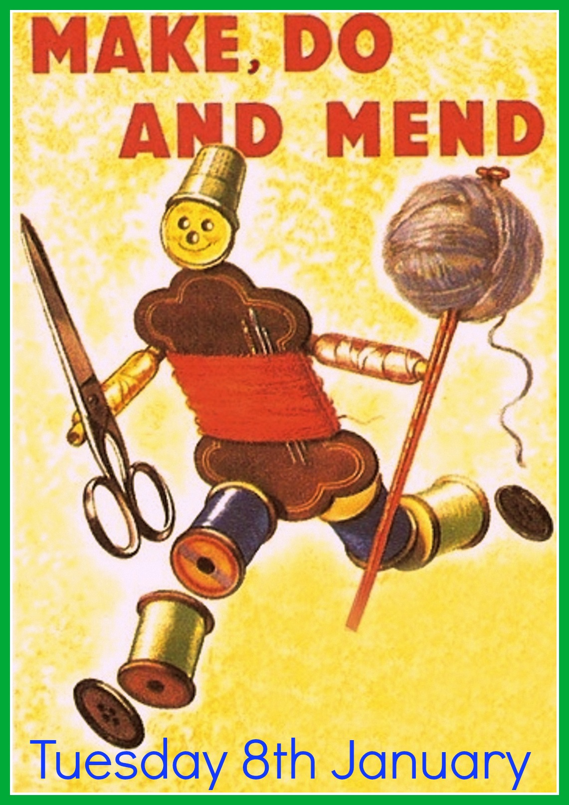 make, do & mend man January 2013