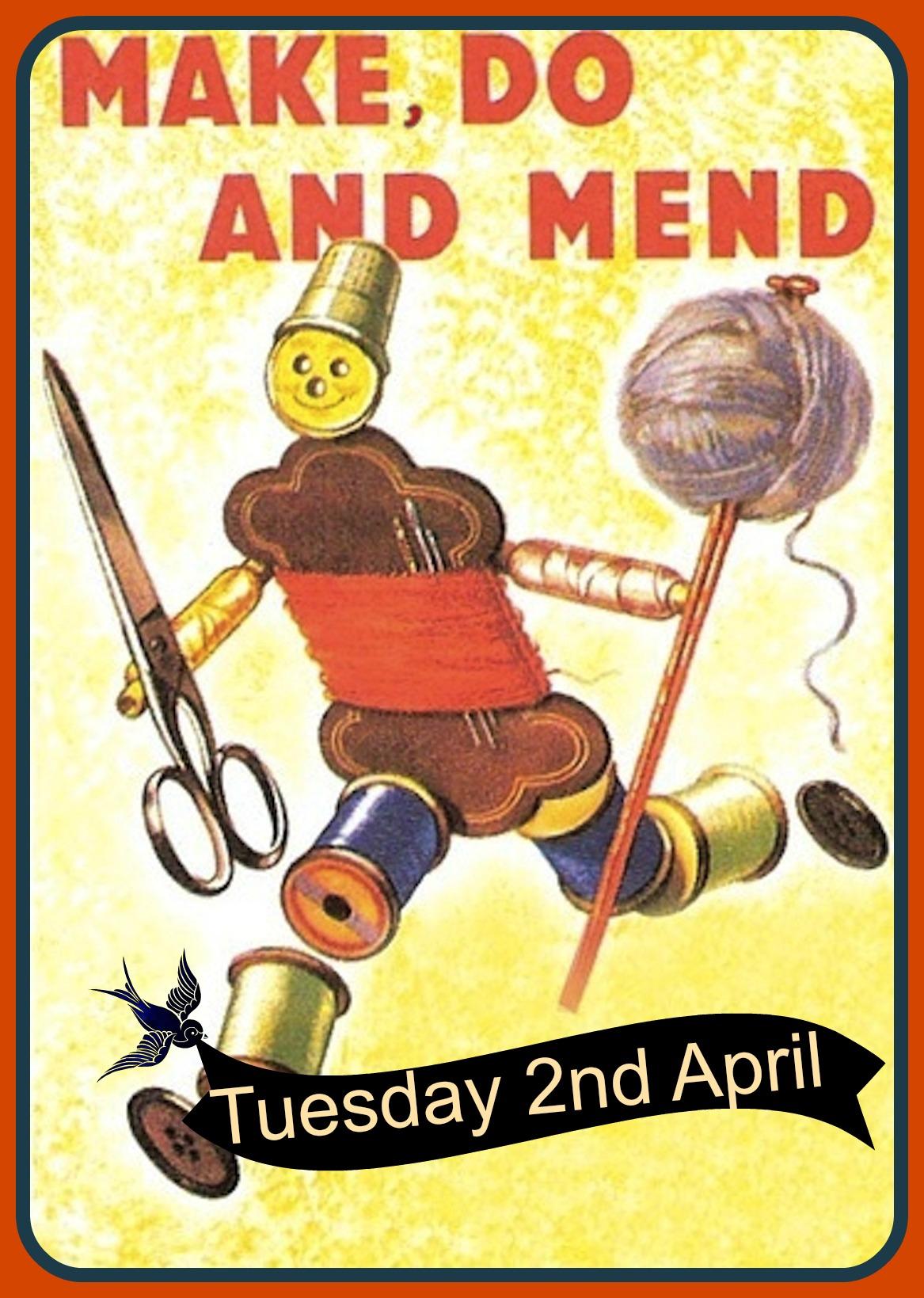 make, do & mend man April 2013