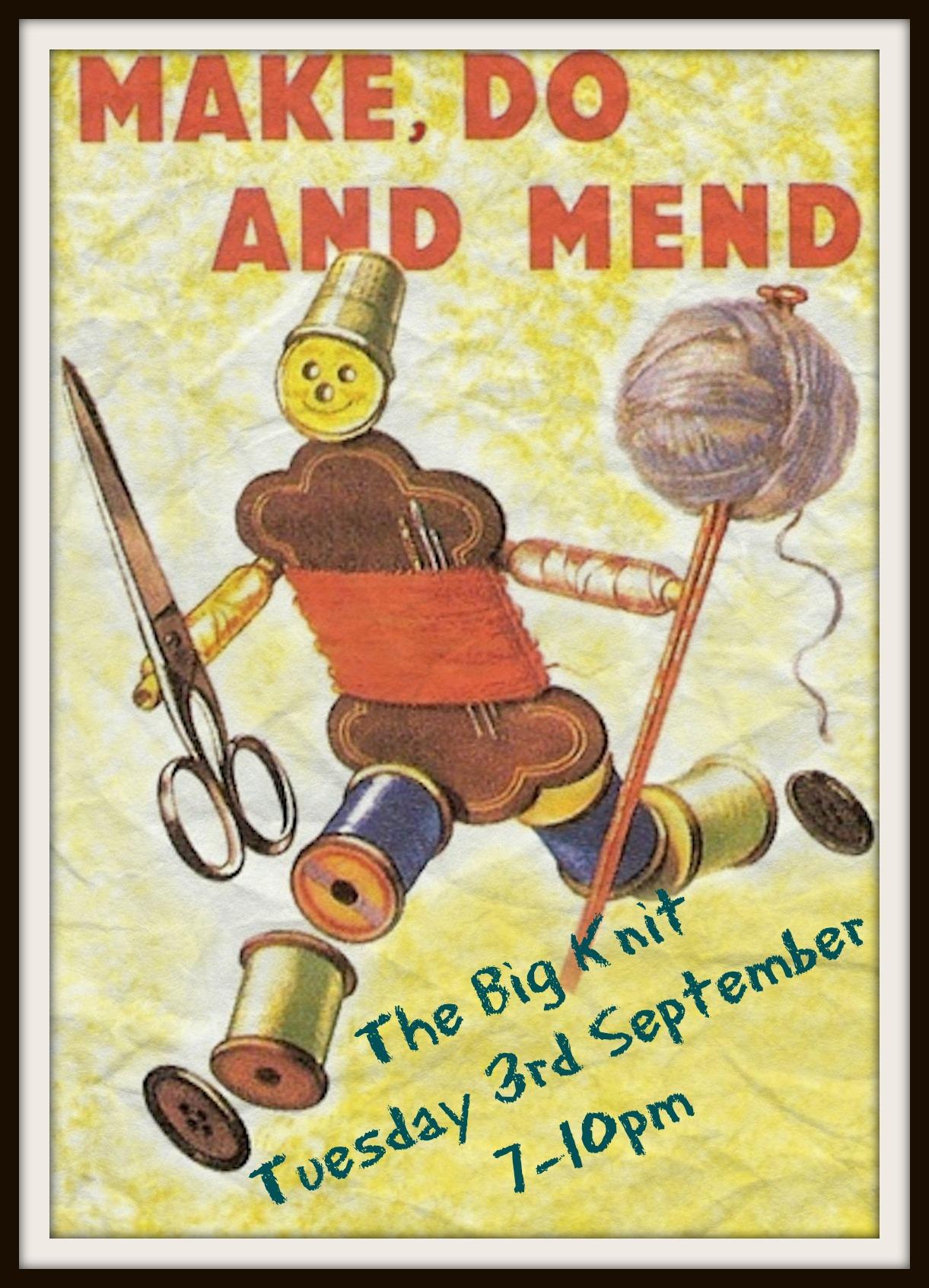 make, do & mend man Sept 13