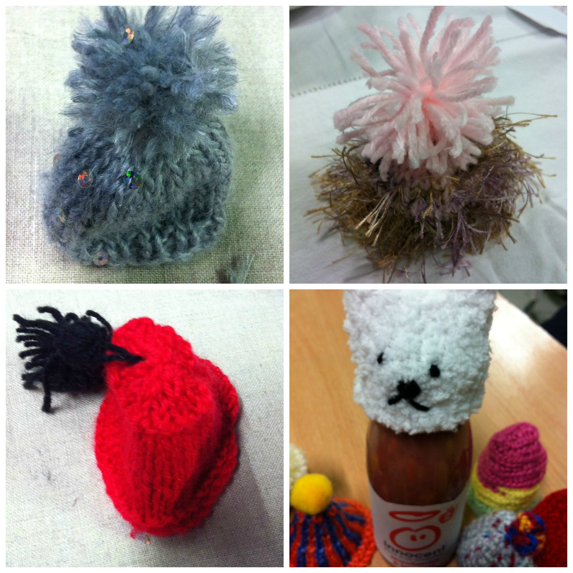 big knit Collage