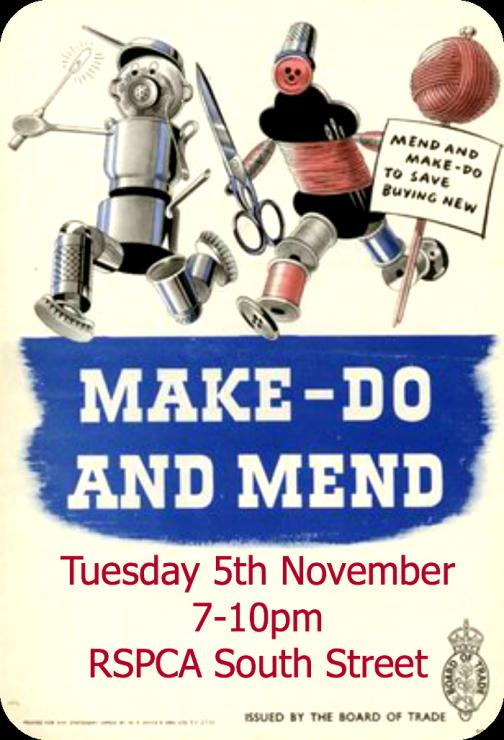 make do & mend November 2013