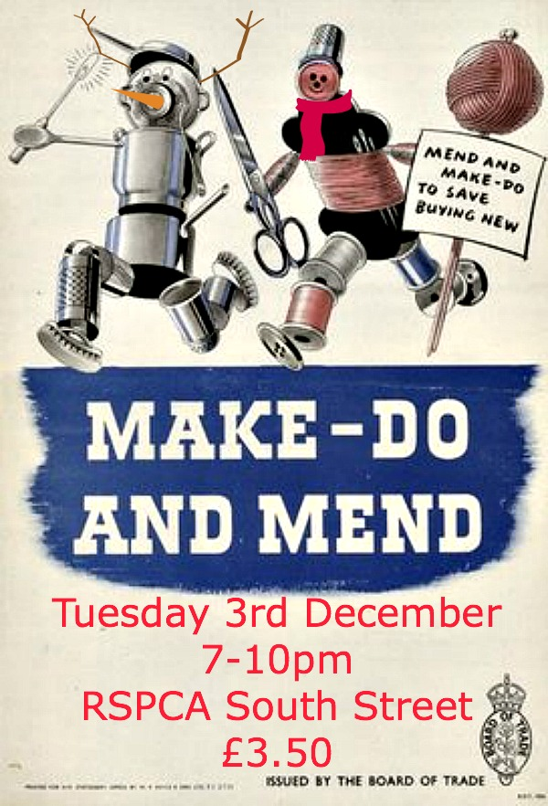 make, do & mend Dec 2013