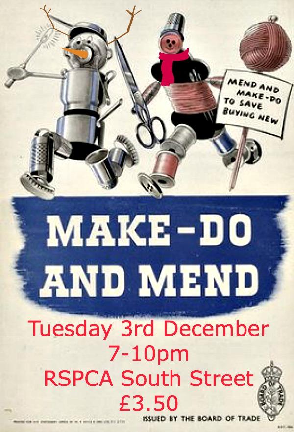 make, do & mend Dec 2013