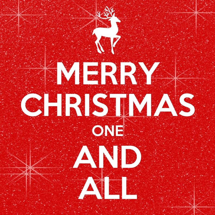 Christmas one & all